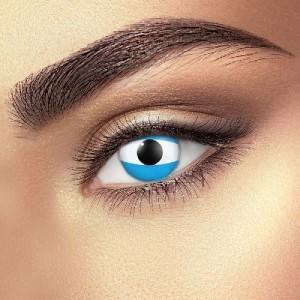 Argentina Flag Eye Accessories (Pair)