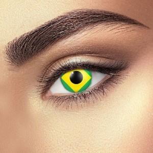 Brazil Flag Eye Accessories