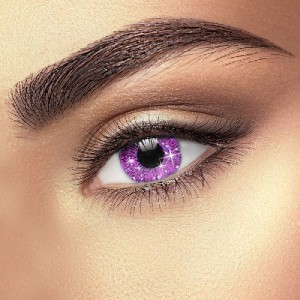 Glimmer Violet Eye Accessories