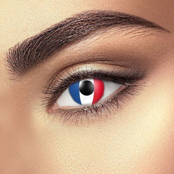 France Flag eye accessories