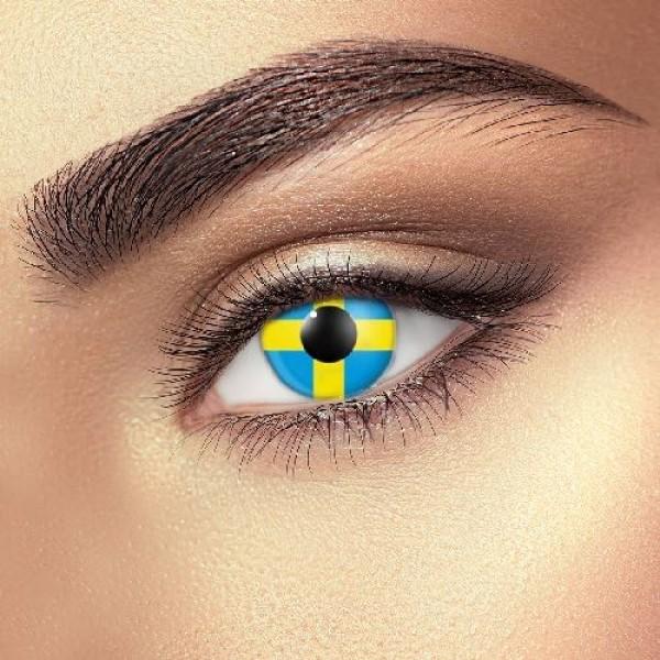 Sweden Flag eye accessories