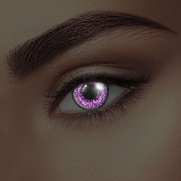 i-Glow Amethyst Eye Accessories (Pair)