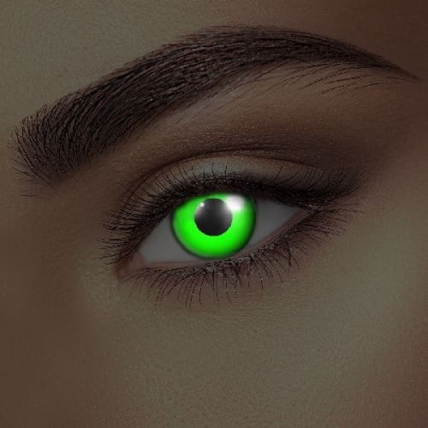 i-Glow Green UV Eye Accessories (Pair)