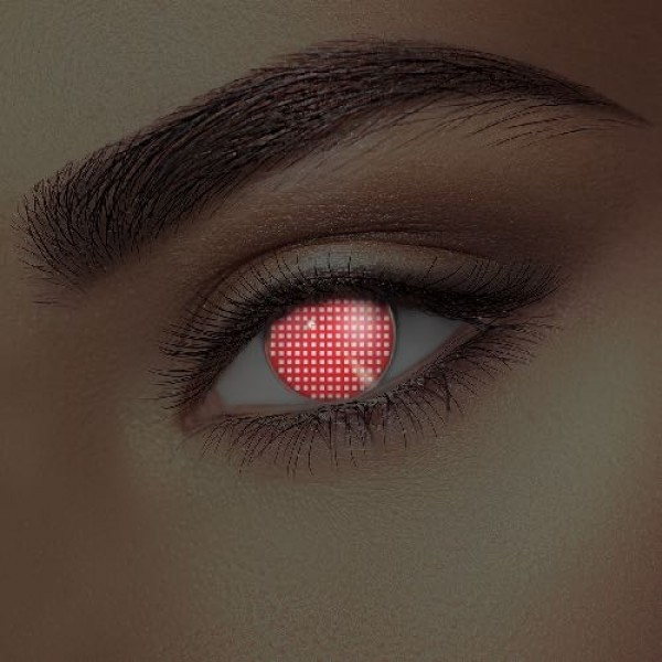 i-Glow Red Screen Eye Accessories (Pair)