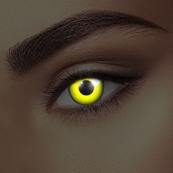 i-Glow Yellow UV Eye Accessories (Pair)