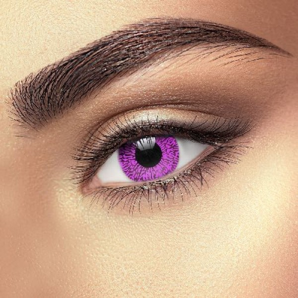 Violet One Tone Eye Accessories (Pair)