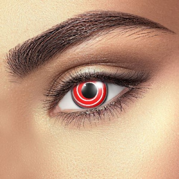 Red Spiral Eye Accessories (Pair)
