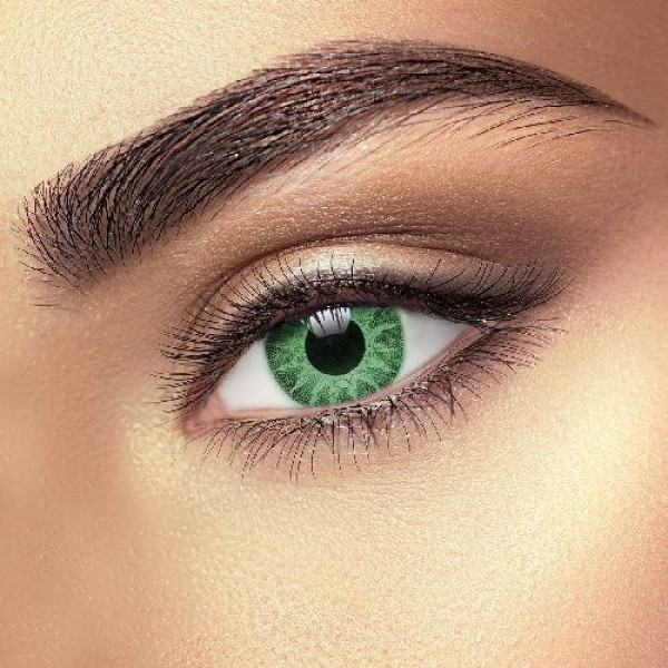 Solar Green Coloured Eye Accessories (Pair)