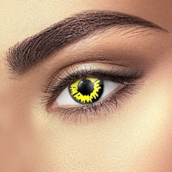 Yellow Werewolf Eye Accessories (Pair)