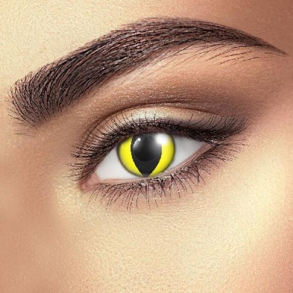 Yellow Cat Eye Accessories (Pair)